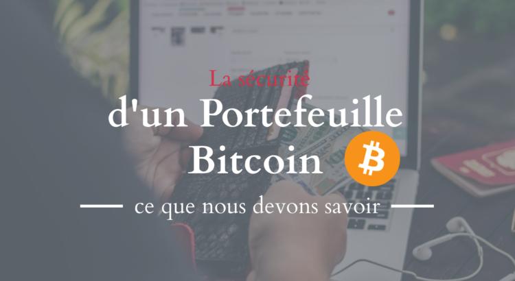 sécurité portefeuille bitcoin