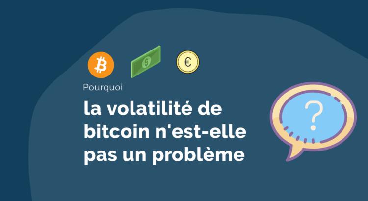 volatilité bitcoin