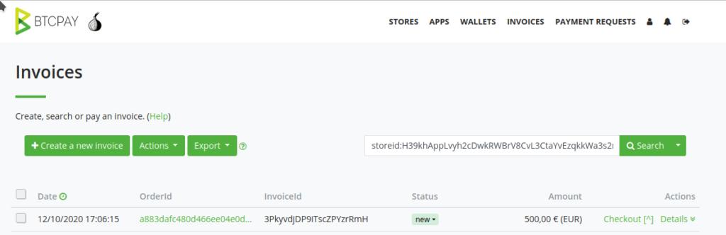 créer une facture bitcoin