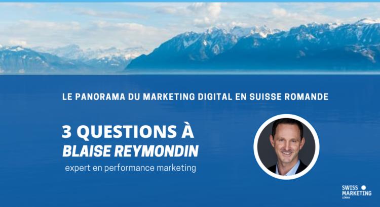 3 questions à Blaise Reymondin